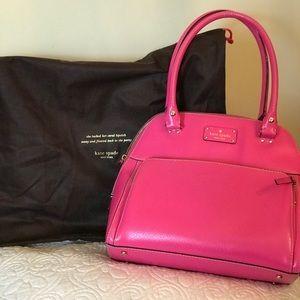 Kate Spade gently used Bright Pink Satchel